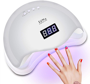 lampe UV seche ongles manucure pedicure