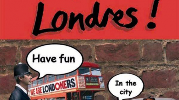 Londres have fun in the city Babette Koenig Marie Dura