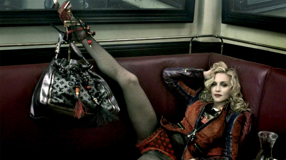 Madonna pose pour Louis Vuitton