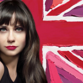 Zooey Deschanel egerie Rimmel London