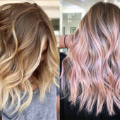 ombré hair coloration cheveux